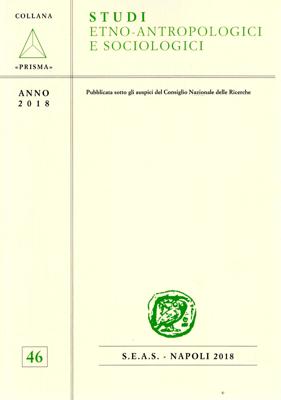 Copertina Studi Etno Antropologici Sociologici